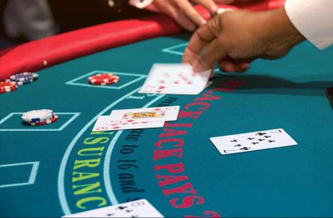 Blackjack Hand Gestures