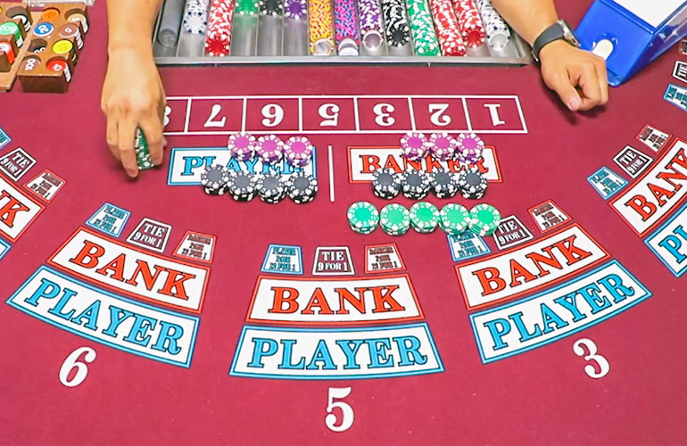 baccarat rules for bankers